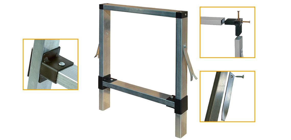 Falso telaio in legno per finestre affordable telai e controtelai per tapparelle with falso - Montaggio finestre pvc senza controtelaio ...